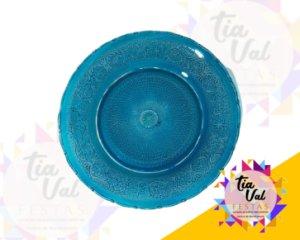 Foto de Azul prato raso