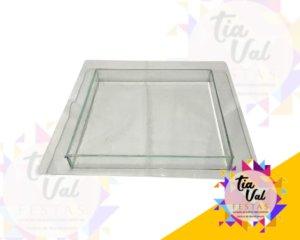 Foto de Bandeja de vidro quadrada (pe vidro)