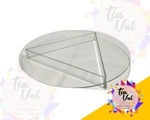 Foto de Bandeja de vidro redonda (pe vidro)