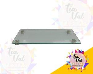 Foto de Bandeja de vidro ret. P 0,20 x 0,45 (pe aço)