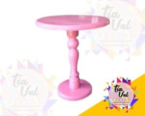 Foto de Base rosa claro p/ doces M  (madeira)