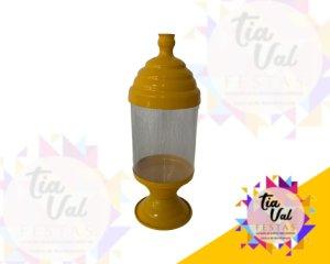 Foto de Bomboniere amarela de acrilico