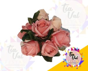 Foto de Bouquet rosas rosa pequeno