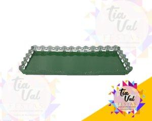 Foto de Cinzelado verde bandeira bandeja ret. G