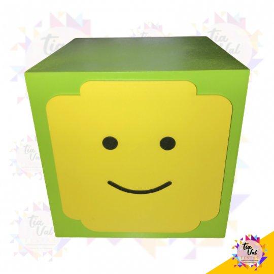 CUBO LEGO VERDE / AMARELO