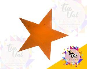 Foto de Estrela laranja (acrilico)