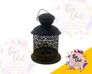 Foto de Luminaria p/ decoração preta Media (estrela)