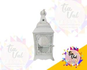 Foto de Luminária para decoração quadrada M branca