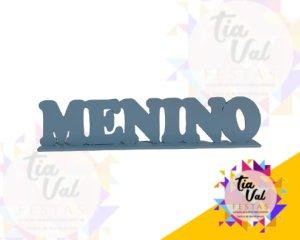 Foto de NOME MENINO MDF AZUL