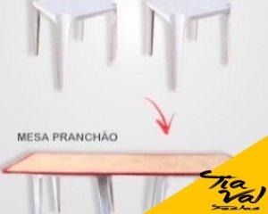 Foto de Mesa cavalete retangular 2,20m x 0,80cm