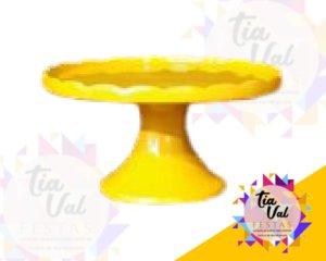 Foto de Porcelana amarela boleira borda p/ cima P