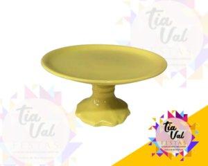 Foto de Porcelana amarela boleira lisa G