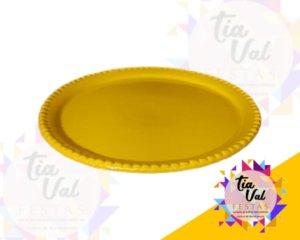 Foto de Porcelana amarela prato red perola