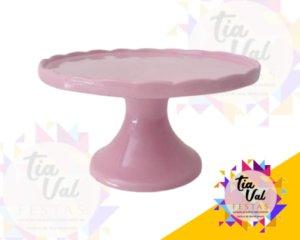 Foto de Porcelana rosa boleira borda p/ cima P