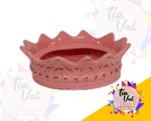 Foto de Porcelana rosa suporte p/ coroa GG