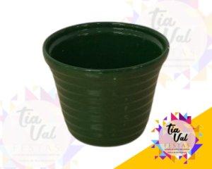 Foto de Porcelana verde BANDEIRA cachepot P