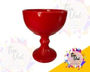 Foto de Porcelana vermelha taça P