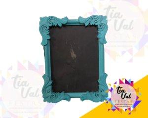 Foto de Porta retrato azul tifany 13 x 18 cm