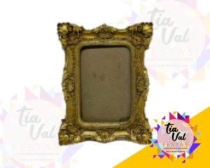 Foto de Porta retrato dourado P 10X15 retangular (RESINA)