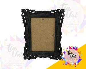 Foto de Porta retrato preto arabesco 15x20