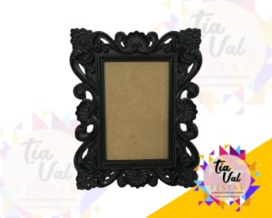 Foto de porta retrato preto P 10,5 x 15,5