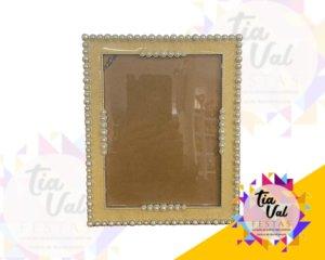 Foto de porta retrato retangular perola 15 cm x 20 cm