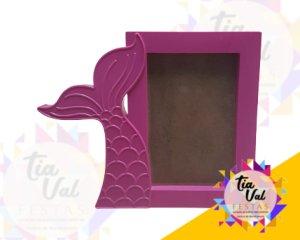 Foto de Porta retrato sereia pink 10x 15
