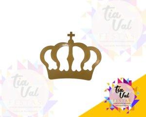 Foto de Provençal dourado coroa p/ parede GG