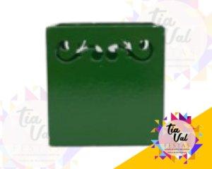 Foto de Provençal verde bandeira cachepot P quadrado