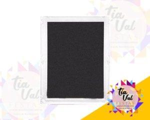 Foto de Quadro negro borda branca