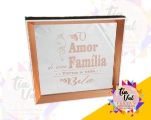 Foto de QUADRO ROSE AMOR DE UMA FAMILIA