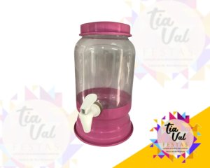 Foto de Suqueira rosa claro plastico 2,5 l