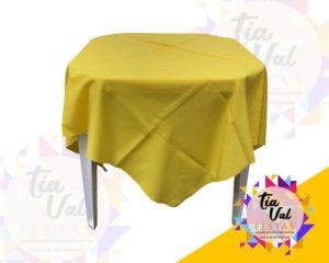 Foto de Toalha quadrada 1,50m amarela*