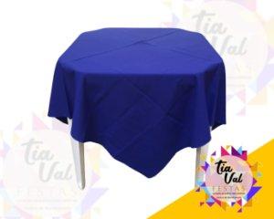 Foto de Toalha quadrada 1,50m azul royal