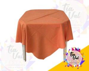 Foto de Toalha quadrada 1,50m laranja