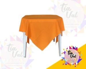 Foto de Toalha quadrada 1,50m laranja neon
