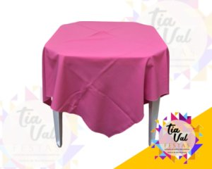 Foto de Toalha quadrada 1,50m rosa claro