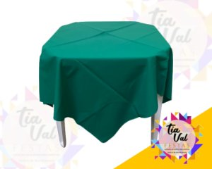 Foto de Toalha quadrada 1,50m verde bandeir