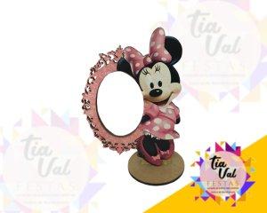Foto de espelho Minnie rosa