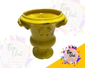 Foto de Vaso amarelo c/ alça P