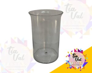 Foto de Vaso de vidro para arranjo c/ furo
