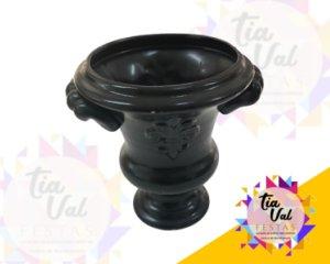 Foto de vaso preto c/ alça P